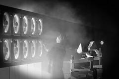 Krankisenthizer / Ei Wada (JP) (Ars Electronica) Tags: 2016 arselectronica arselectronica2016 arselectronicafestival arselectronicafestival2016 austria eiwadajp kankisenthizerexhaustfancillator linz mediaart openingevent postcity radicalatomsandthealchemistsofourtime upperaustria art future science society technology schwarzweis sw bw blackandwhite black white schwarz weis fan fans ventilator ventilatoren smoke rauch