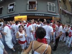 San Fermin is a really social festival.