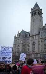 Womens March DC-20170121-TW Meetup _ 20170121 _ KMB_0335 (kevinbarry7) Tags: womensmarch washington dc feminism dump trump protest capital resist mall pence devos love trumps hate