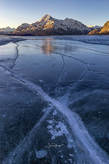 Abraham Lake (shaunyoung365) Tags: sunrise sonya7r frozen winter canada lake abraham ice mountains mountain