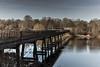 Black Bridge 18-12-2016 (John Holmes (DAJH51)) Tags: hdr nikond750 photomatrix univesityoflimerick blackbridge bridge clouds concrete grass sigmaart24105 sky steel trees