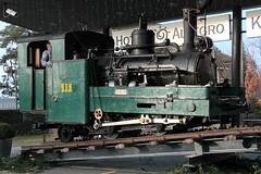 BRB Brienz - Rothorn - Bahn Dampflokomotive H 2/3 Nr. 1 ( Zweite Lok mit Nr. 1 - Hersteller SLM Nr. 693 - Baujahr 1892 - Ex GN Glion - Naye - Bahn - Schmalspur Zahnradbahn 800 mm ) zur Zeit vor dem Kursaal in der Stadt Bern im Kanton Bern der Schweiz (chrchr_75) Tags: albumzzz201612dezember christoph hurni chriguhurni chrchr75 chriguhurnibluemailch dezember 2016 bahn eisenbahn schweizer bahnen zug train treno albumbahnenderschweiz2016712 albumbahnenderschweiz schweiz suisse switzerland svizzera suissa swiss dampflokomotive dampfmaschine dampflok locomotora vapor паровоз vapeur steam vapore 蒸気機関車 stoomlocomotief albumdampflokomotiveninderschweiz chrchr chrigu albumbahnbrbbrienzrothornbahn albumzahnradbahnenschweiz brb zahnradbahn juna zoug trainen tog tren поезд lokomotive lok lokomotiv locomotief locomotiva locomotive railway rautatie chemin de fer ferrovia 鉄道 spoorweg железнодорожный centralstation ferroviaria