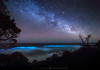 Bioluminescence Under A Starry Sky (The Art of Night) Tags: bioluminescence bioluminescent astrophotography nightscape ocean byron bay mark gee australia stars milky way night landscape