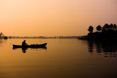 Fisherman's Morning @ Backwaters Kerala (abdul8423) Tags: backwaters kerala alleppey sunrise fishing