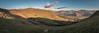 Rolling Hills. (Howie Mudge LRPS) Tags: landscape photography nature ngc outside outdoors travel travelling traveler sky clouds fields hills mountains trees grass bracken light shade ultrawideangle pano panorama panoramic scene scenery view views llanegryn fforddddu gwynedd wales cymru uk birdrock craigyraderyn panasonicdmcgx80 microfourthirds mft m43 compactsystemcamera mirrorlesscamera lumixgvario14140f3556