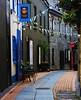 Galway street (Leo Bissett) Tags: street cobble paving galway druid ireland alley theatre drama