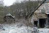 Eingefroren (GeraldGrote) Tags: scheune mägdesprung frost verfall winter harz schnee harzgerode sachsenanhalt germany de