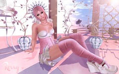 Breathe (RoxxyPink) Tags: roxxypink luas lepunk roxxy pink wasabipills wasabi pills catwa catwahead head ersch the chapter four thechapterfour style styling poses pose poser posing fashionuschies fashion uschies sl blog slblogger slblog slblogging fashionblog fashionblogger fashionblogging fair event