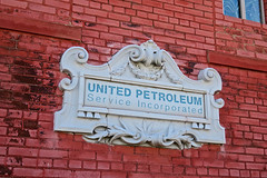 United Petroleum Service Incorporated, St. Louis, MO (Robby Virus) Tags: stlouis missouri mo united petroleum service incorporated sign signage inscription brick wall