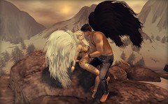 Illimunesse (Dolly♚Versailles @ http://nonpareildolly.wordpre) Tags: angels secondlife angel love eternal