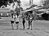 Girls (Beegee49) Tags: filipina four girls walking smiling silay city philippines
