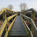 Footbridge - explored (vintage vix - Everything is a miracle) Tags: footbridge perspective