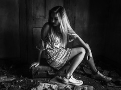 """waiting for her trip that will never come...(Jada-""""the secret is out house"""") (Aces & Eights Photography) Tags: abandoned abandonment decay ruraldecay oldhouse abandonedhouse"""