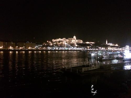 Parlamento Budapeste à noite