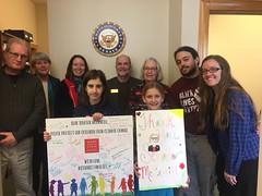 Missouri members visit Senator McCaskill's office