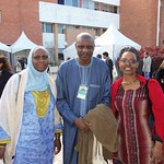 Dr. Barro and Dr. Mshai Mwangola with CODESRIA Executive Secretary Dr. Ebrima Sall in Rabat, Morocco (2011)
