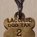 LACOMBE, ALBERTA 1918 ---DOG TAX (LICENSE)  #2