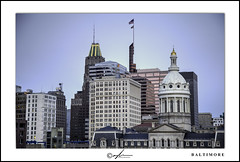 Baltimore, MD (Mike Keller Photo) Tags: cityscape cityhall baltimore charmcity