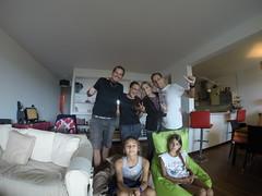Photo de 14h - Avec Fidji, Estelle, Virginie et Jean-Julien (Nouméa, Nouvelle-Calédonie) - 10.06.2014