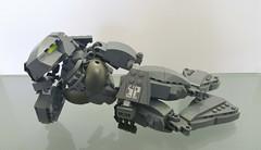 Chloe Mk2 005 (E-Why) Tags: girl female robot lego chloe bionicle fembot android moc devastator exoforce ewhy
