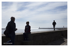 (Imati) Tags: paseo malecon figuras oporto oceano canoneos6d