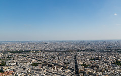 Paris June 2015 253 - Viewed from the top of Montparnasse Tower (Mark Schofield @ JB Schofield) Tags: park city bridge cruise paris france tower fountain architecture buildings river garden de french champselysees hotel la europe cityscape arch place rooftops pyramid louvre triomphe royal jardin bank eiffel palace tourist invalides latin concorde tuileries luxembourg notre dame left relaxed montparnasse marais pyramide boar ville hausmann seinr stgremain
