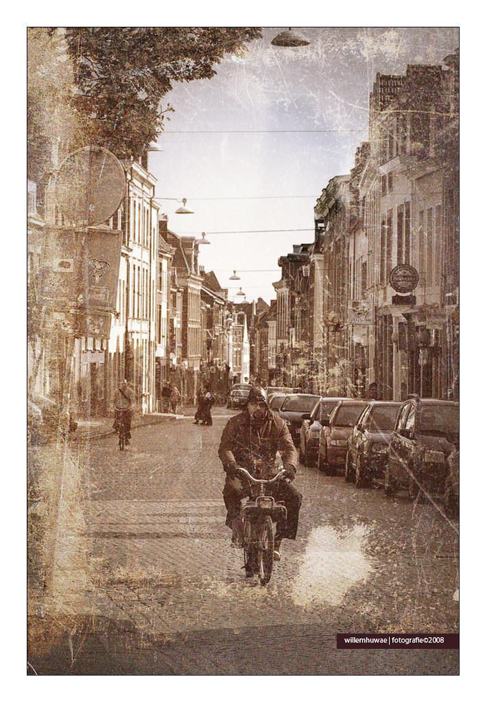 warm straat hoer rondborstige