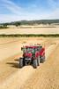 CaseIH Puma 230 CVX with baler (Case IH Europe) Tags: blue sky sun tractor field landscape outdoor farming machine case vehicle puma agriculture bales 230 baler cvx caseih
