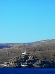 Greece ~ Kea ~ Lighthouse Tamelos2 (M Lamprinos) Tags: sea summer lighthouse mountain island waves greece kea kythnos    tamelos