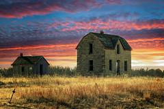 Old Stone House (nikons4me) Tags: old house building stone ks kansas nikond7100 tamronaf70300mmf4056ldmacro