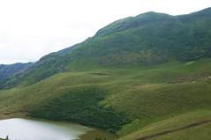 Varful Malaia vazut de la lac