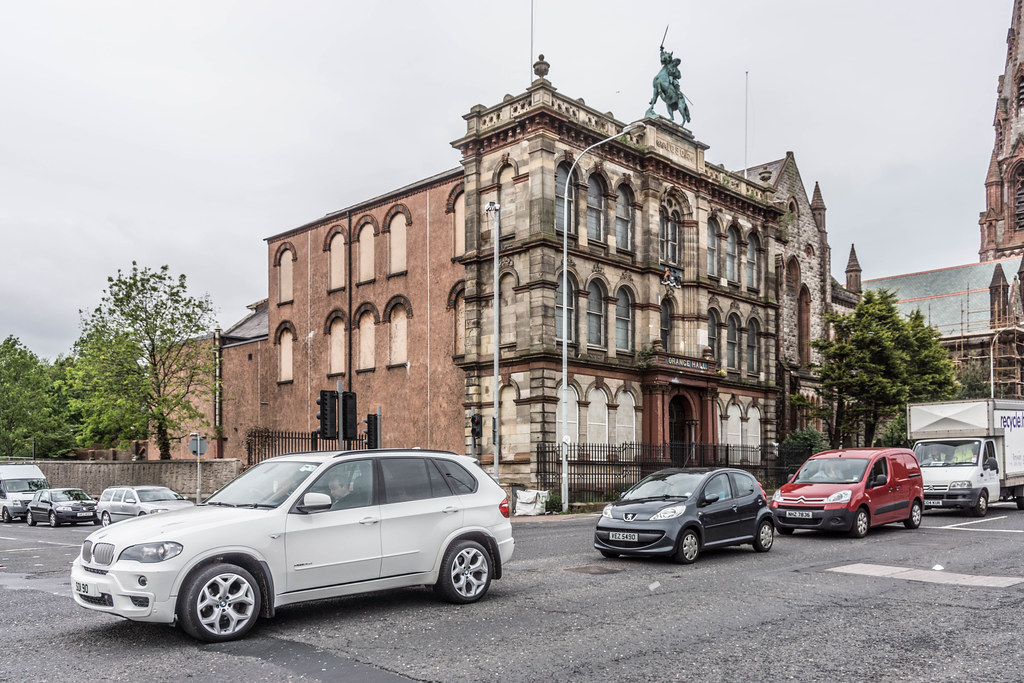 BELFAST CITY MAY 2015 [OLD ORANGE HALL] REF-106499