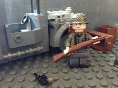 "Roy Cobb from ""Band of Brothers"" (Cinema Bricks) Tags: lego legoarmy brickarms legomilitary legowwii citizenbrick gibrick"