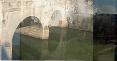 Pultney Bridge/Royal Fort (dichohecho) Tags: film analog 35mm bristol bath analogue sprinty kodakcolorplus200 dichohecho kingregulasprintybc