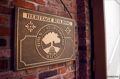 Town Of Storybrooke Maine (Clayton Perry Photoworks) Tags: summer canada sign vancouver tv bc richmond onceuponatime abc filming steveston sdcc ouat explorebc explorecanada oncers storybrooke onceabc