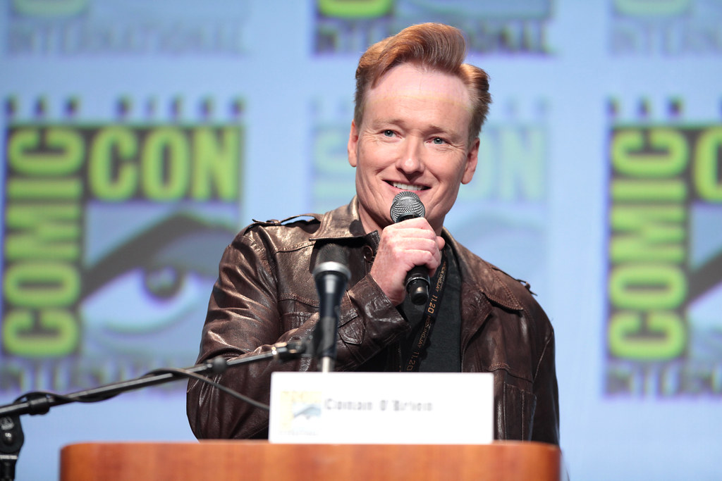 Conan O'Brien by Gage Skidmore, on Flickr