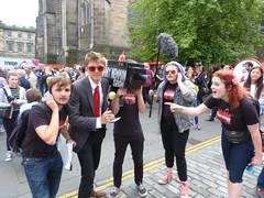 Edinburgh Fringe Festival 2015 (40) (Royan@Flickr) Tags: street costumes festival actors high edinburgh royal fringe entertainment international acting singers performers mile 2015 20150808