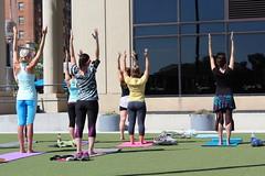 SPARKcon 2013 Yoga (autumnmistbelk) Tags: yoga class asana sparkcon dancespark sparkcon2013 dancespark2013