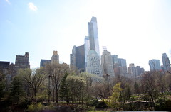 Well hello NYC! (Sue Bahrin) Tags: nyc newyorkcity trees usa plant tree nature skyline spring honeymoon unitedstates outdoor centralpark greens essexhouse midapril almostsummer suebahrin jazemelia 24hoursjourney
