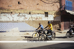 Motorbikes in Marrakech, Morocco (Naomi Rahim (thanks for 3 million visits)) Tags: marrakech marrakesh morocco africa northafrica 2016 المغرب مراكش travel travelphotography nikon nikond7200 wanderlust summer streetphotography road people men