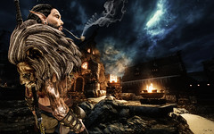 Home sweet home (Migan Forder) Tags: fantasy elf warrior medieval male lion pfcstore