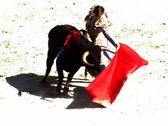 Andy Younes (aficion2012) Tags: arles novillada septembre 2016 blohorn jalabert corrida france francia andy younes novillero faena toros bull fight bullfight toreaux muleta