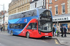 IMGB9365 GSC 1654 HF66CHG Salisbury 10 Jan 17 (Dave58282) Tags: bus gosouthcoast 1654