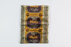 "Verpackung ""Mocca Fix Gold Kaffee"" (DDR Museum) Tags: ddr museum berlin coffee konsum genuss bohne instant exklusiv luxusprodukt"