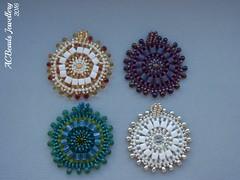 Pendants for Xmas gifts (ACBeads) Tags: acbeadsjewellery acbeads mandala mandalanecklace pendant pendente missanga miçanga