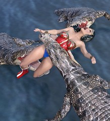 Wonder Woman Vore1 (rjc721963) Tags: wonder woman vore kinky leather boots