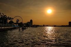 Riding into the Sundown (yarin.asanth) Tags: silhouette sun yellow golden sunset sundown waterstars water trip winter december chaopraya river thailand rotz story princeyarinvandeflickrs gerdkozik yarinasanth bangkok