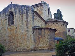 Iglesia románica - Besalú - Gerona (Luis Mª) Tags: girona gerona besalú románico arterománico iglesia ábside