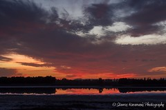 sky paintings II (stavros karamanis) Tags: sunset sky skydrows skylovers reflection lake lakescapes landscape landscapephotography colours outdoor canonphotography canonusers canon t3i dslr ef35350mmf3556lusm primelense ngc larnaca cyprus cloud field depthfield dusk