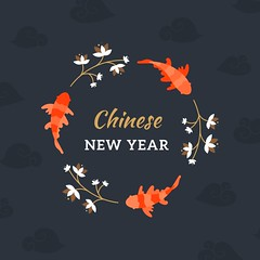 free vector Happy Chinese New Year With Fish Background (cgvector) Tags: abstract animal art asia background banner card celebration character chicken china chinese chiness cock concept culture decoration design elegant element festival fidh fish flower frame gold golden graphic greeting happiness happy hen holiday illustration lunar modern nature new oriental ornament prosperity red rooster shape sign style symbol traditional tree vector wallpaper year newyear happynewyear winter 2017 party chinesenewyear color event happyholidays winterbackground
